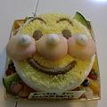 Photos: アンパ○マンのケーキ