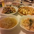 写真: 友達と夕食会