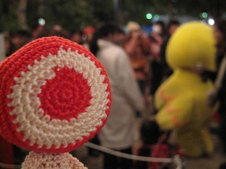 沖縄県旗おやじが行く!神戸ルミナリエ2011