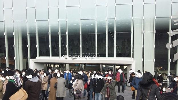 シルク・ドゥ・ソレイユ シアター東京 3