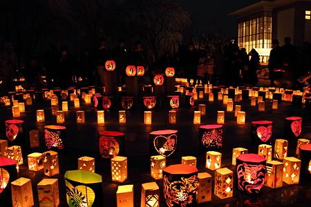 「復興への誓い 2万個の灯火」