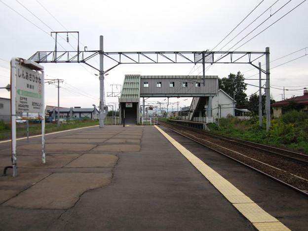 写真: 新旭川駅ホーム4