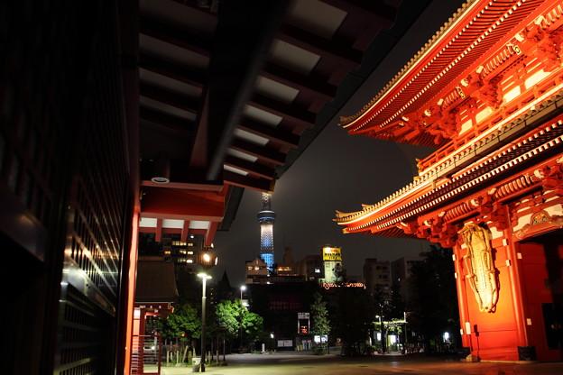 宝蔵門・新夜景