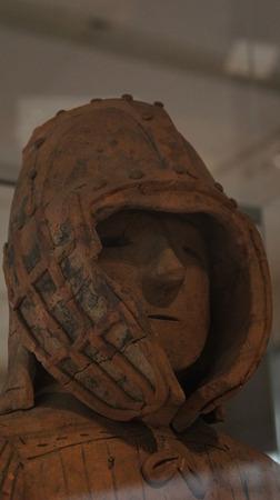 国宝埴輪武装男子立像(DSC06302)