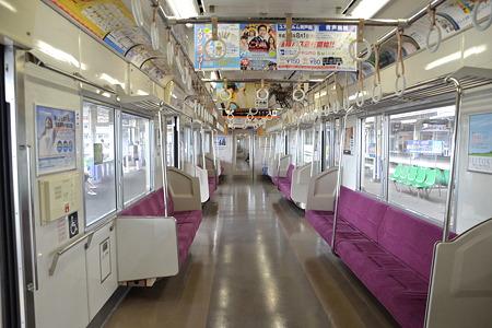誰も居ない車内(3000形)@(京成)成田駅[7/30]