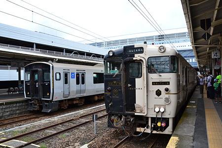 817系×指宿のたまて箱@鹿児島中央駅[8/14]