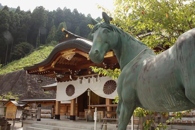 写真: 丹生川上神社・上社