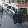 Photos: 火入れ式へ向かうC6120