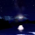 Photos: 上弦の月