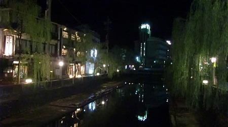 城崎温泉 夜の街並み(2)