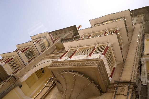 マイソール宮殿 窓