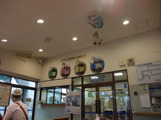 境線 境港駅(鬼太郎駅)待合室