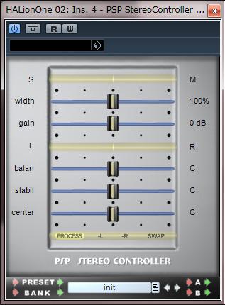 PSP_StereoController