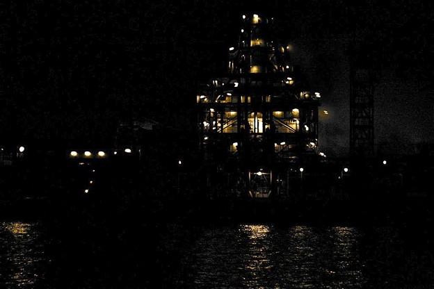 東京湾、工場夜景_6797