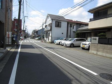 生麦事件現場から横浜方面を望む