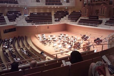 東京交響楽団第66回新潟定期演奏会前半セッティング