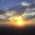 Sunset Skytree - wide