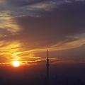 Sunset Skytree - shadow