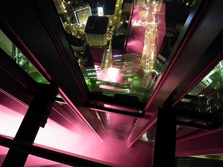 ミッドランドスクエア光のショー1