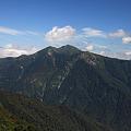 雄大な朝日岳