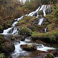 勇壮な白蛇ノ滝