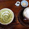 豆乳プリン&抹茶ラテ