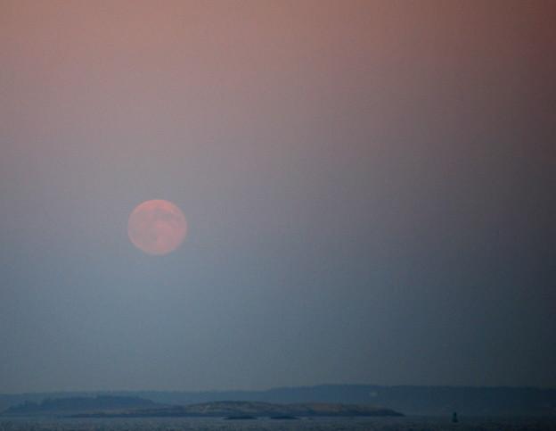 Photos: Harvest Moon Rising