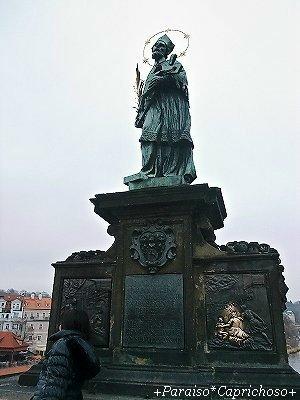 聖ヤン・ネポムツキーの彫像