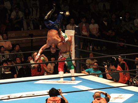 新日本プロレス BEST OF THE SUPER Jr.XIX Aブロック公式戦 BUSHIvsロッキー・ロメロ (2)