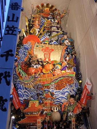 博多祇園山笠 2010 飾り山 千代流 宝来船博多之賑(ほうらいぶねはかたのにぎわい)1