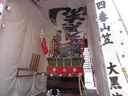 34 博多祇園山笠 大黒流 舁き山 余香馥郁大楠恩(よこうふくいくたりだいなんのおん)2012年 写真画像5