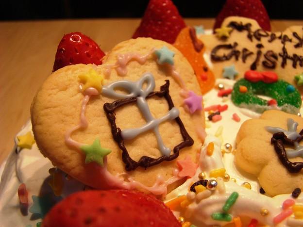 写真: クリスマスケーキ@2011年