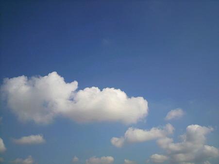 2011/9/14の朝の空