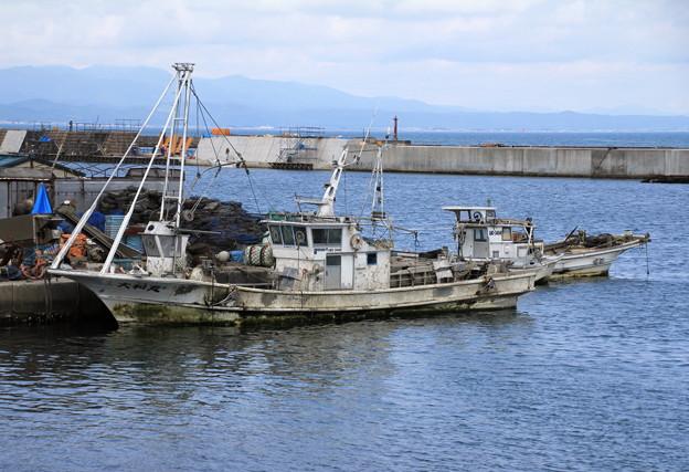Photos: 青森漁港・ホタテ漁船01-12.07.10