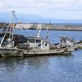 青森漁港・ホタテ漁船01-12.07.10