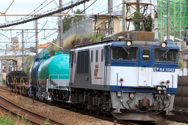 配6794レ EF64 1042+タキ+コキ+トラ