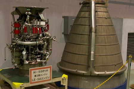 H-IIロケット第2段エンジン