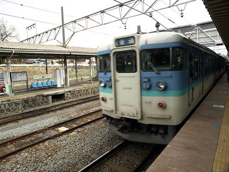 115系(小淵沢駅)