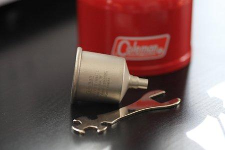 2011.12.17 机 Half size lantern ColemanR Model 200A 付属品