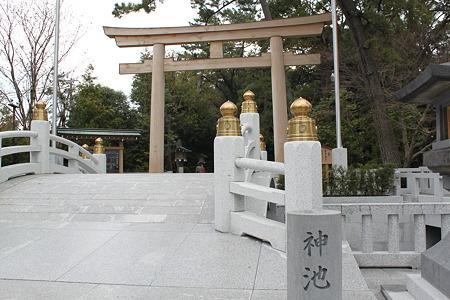 神池橋・三の鳥居