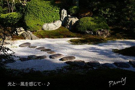 枯山水・・喜泉庵にて・・11