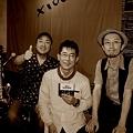 写真: 120609笠やん, 田中晴之さんと@x100