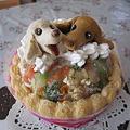 写真: アトリエ ワフさんに頼んだケーキ
