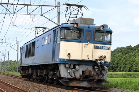 EF64-1012単回(76レ?)