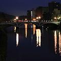 夜の浅野川 大橋 ?