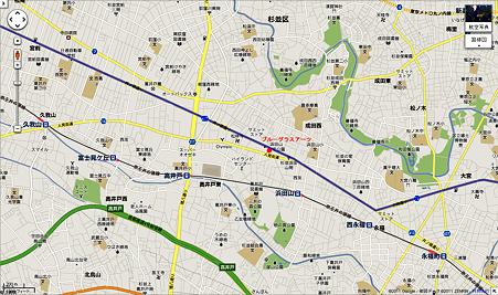 ブルーグラスアーツ 地図