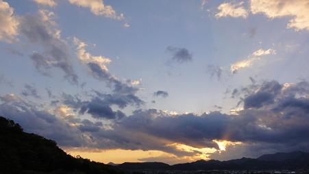 雲のパノラマ