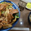 山梨辛味噌丼(中央道【上り】・双葉SA)