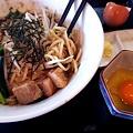 写真: 宇都宮市 駿麺なが田「和えそば」全景
