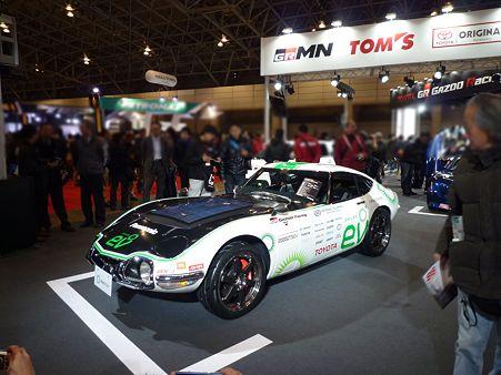 TOKYO AUTO SALON 2012 2000GT